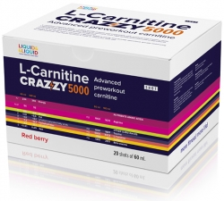 Liquid & Liquid L-Carnitine Crazzy 5000 (Ампулы)