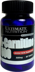Ultimate Nutrition L-carnitine 500