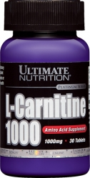Ultimate Nutrition L-carnitine 1000