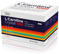 Liquid & Liquid L-carnitine Crystal 5000 (ампулы)