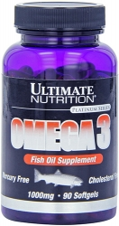 Ultimate Nutrition Omega 3 Fish Oil Supplement