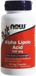 NOW Alpha Lipoic Acid 100 mg