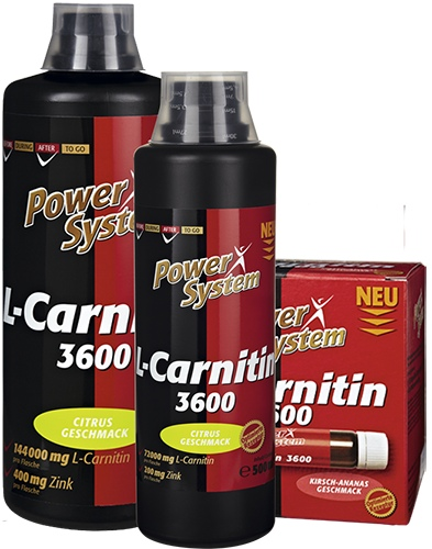 Power System L-Carnitin 3600