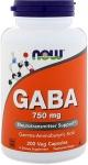 NOW GABA (Gamma Aminobutyric Acid)