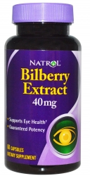 Natrol Bilberry Extract 40 mg