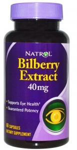 Natrol Bilberry Extract 40 mg