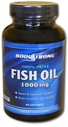 Body Strong 100% Pure Fish Oil 1000 mg