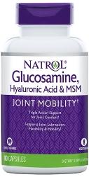 Natrol Glucosamine Hyaluronic Acid & MSM