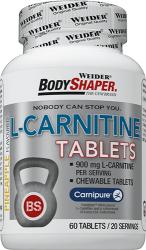 Weider BodyShaper L-Carnitine tablets
