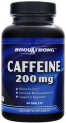 BodyStrong Caffeine 200mg