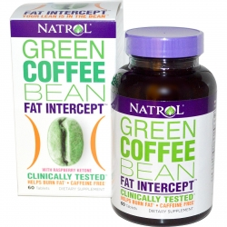 Natrol Green Coffee Bean fat intercept