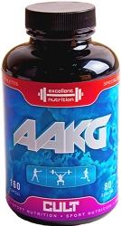 Cult Protein Ingredient AAKG Arginine Alpha - Ketoglutarate (капсулы)