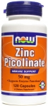 NOW Zinc Picolinate 50mg