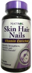 Natrol Skin Hair Nails Vitamin Enriched