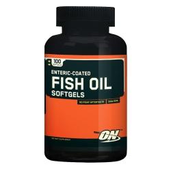 Optimum Nutrition Fish Oil enteric-coated softgels