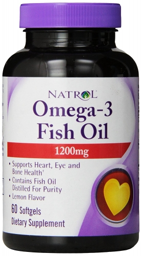 Natrol Omega-3 Fish Oil 1200 mg