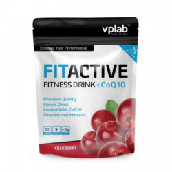 VPLab FitActive Fitness Drink+CoQ10