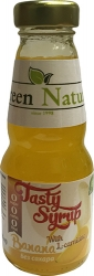 Green Nature Tasty Syrup Banana with L-carnitine