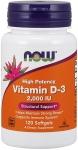 NOW Vitamin D-3 2000 IU