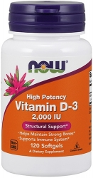 NOW Vitamin D-3 2000 IU