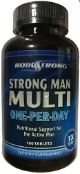 BodyStrong Strong Man Multi One-Per-Day