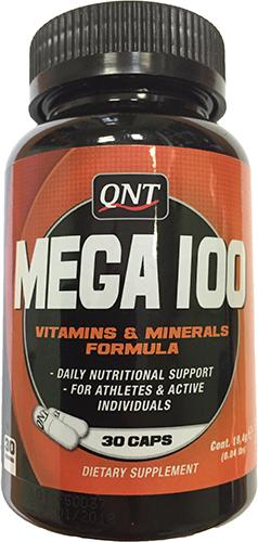 QNT Mega 100 Vitamins & Minerals Formula
