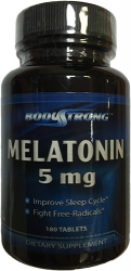BodyStrong Melatonin 5 mg