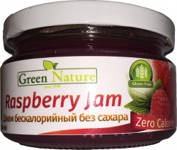 Green Nature Raspberry Jam
