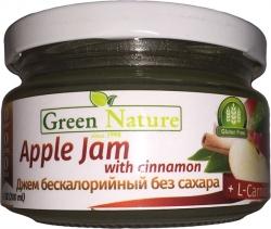 Green Nature Apple Jam with cinnamon + L-carnitine