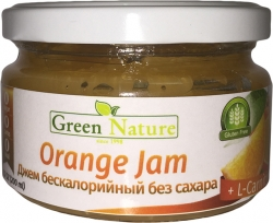 Green Nature Orange Jam + L-Carnitine