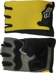 Желтые перчатки для тренировок Scelta
