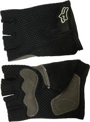 Черные перчатки для занятий спортом Scelta