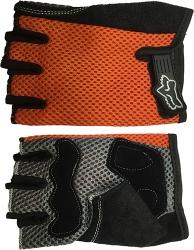 Перчатки для зала оранжевые Scelta