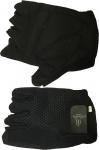 Черные перчатки для турника, брусьев, зала