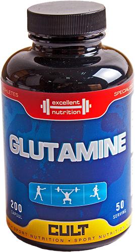 Cult Protein Ingredient Glutamine (капсулы)