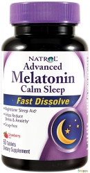 Natrol Melatonin Calm Sleep Fast Dissolve