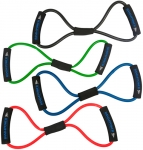 Band4Power Комплект из 4 эспандеров восьмерка