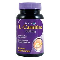 Natrol L-Carnitine 500 mg