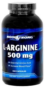 BodyStrong L-Arginine 500 mg