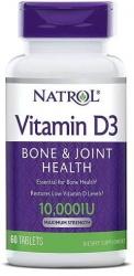 Natrol Vitamin D3 10000 IU