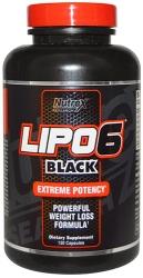 Nutrex Lipo 6 Black