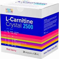 Liquid & Liquid L-Carnitine Crystal 2500 Ампулы