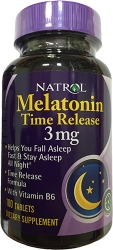 Natrol Melatonin Time Release 3 mg