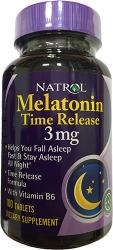 Natrol Melatonin Time Release 3 mg