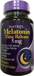 Natrol Melatonin Time Release 5 mg