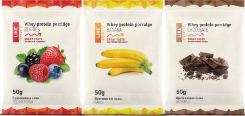 Протеиновая каша LIKE Whey Protein porridge