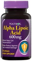 Natrol Alpha Lipoic Acid (альфа-липоевая кислота) 600mg