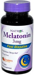 Natrol Melatonin 3 mg Fast Dissolve