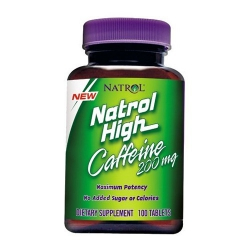 Natrol High Caffeine 200 мг
