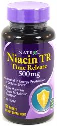 Natrol Niacin Time Release 500mg
